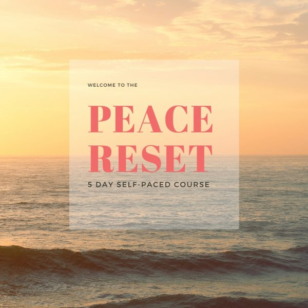 The Peace Reset